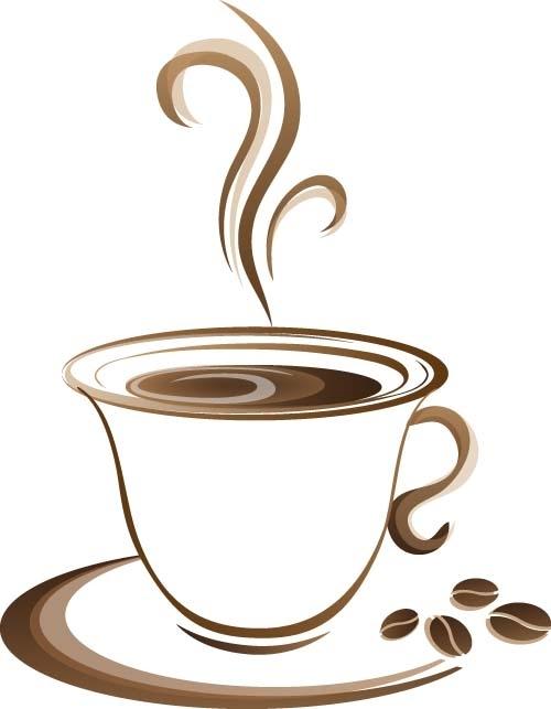 Cốc cafe coffee Vector